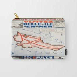 Vintage poster - Belle ile en Mer Carry-All Pouch
