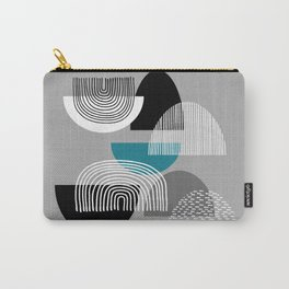 Minimalist Line Abstract Carry-All Pouch