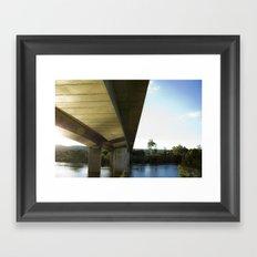 Urban paradise Framed Art Print