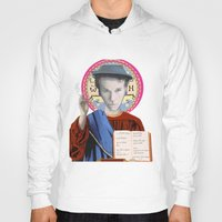 tom waits Hoodies featuring Tom Waits by Hilal Can