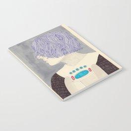Wet Hair Notebook