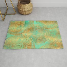Jungle Theorem Abstract Rug