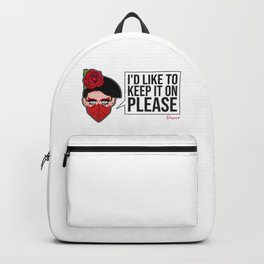 Valentina Facemask from Drag Race Backpack