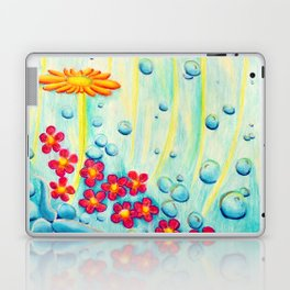 Aqua Fleur - Mazuir Ross Laptop & iPad Skin