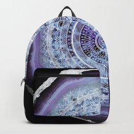 Mandala Agate Backpack