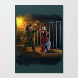Show me your Larbord Side by Topher Adam 2018 Canvas Print