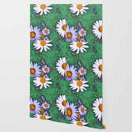 Summer Daisies Wallpaper