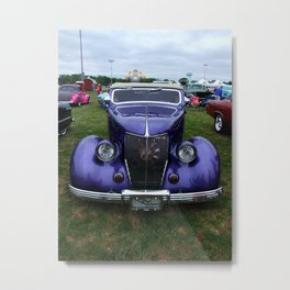 Hot Rod Mama II Metal Print