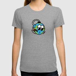 EARTH SELF DESTRUCT T-shirt
