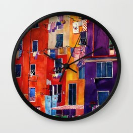 Portovenere Wall Clock
