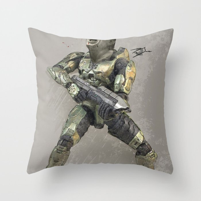 Headshot Throw Pillow