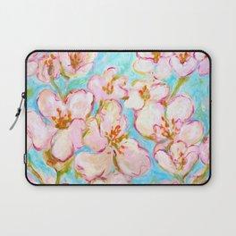 Cherry Blossom - painting by C. Stefan - ArtStudio29 Laptop Sleeve