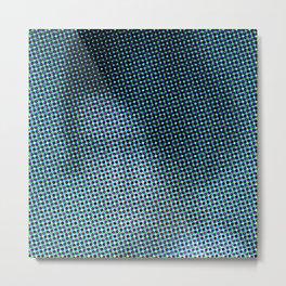 Antonina Shulz in the color grid Metal Print