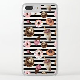 Did someone say dessert? Clear iPhone Case
