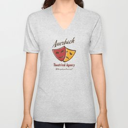 Auerbach Theatrical Agency Unisex V-Neck