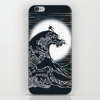 airbender iPhone & iPod Skins featuring Waterbending by Tobe Fonseca