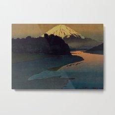 Sunset at Aga Metal Print