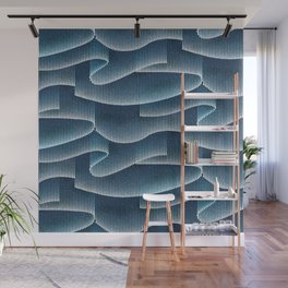 Aurora Borealis_Sky Blue Lights Wall Mural