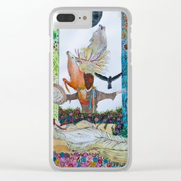 Aisling Clear iPhone Case