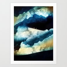 State of isolation Art Print