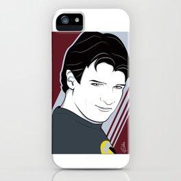 Captain Hammer Nagel style iPhone Case