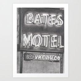 Bates Art Print