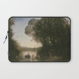 Jean-Baptiste-Camille Corot - Le Bain de Diane Laptop Sleeve