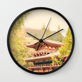 Valley of the Temples Wall Clock