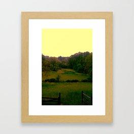 Meadows Framed Art Print