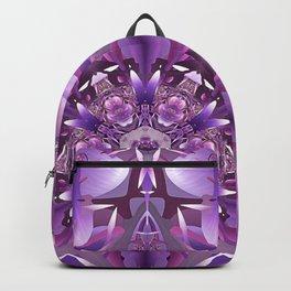 Truth Mandala in Purple, Pink and White Backpack