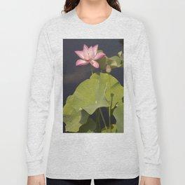 Pink Lotus by Teresa Thompson Long Sleeve T-shirt