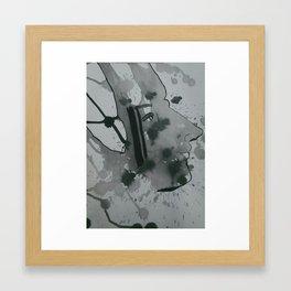 Native Man Framed Art Print