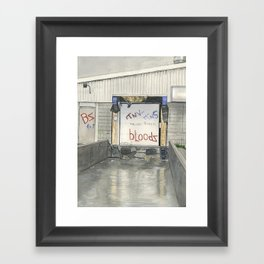 Bloods Framed Art Print