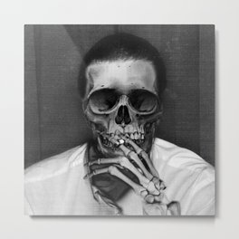 Whenever People Say I'm Dead, That's When I Rot Metal Print