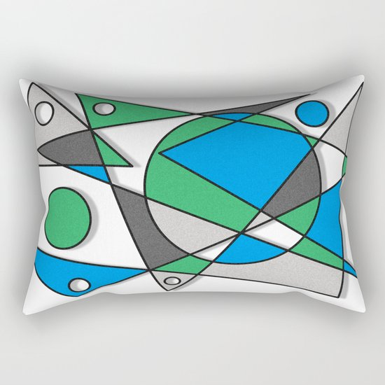 Abstract #83 Rectangular Pillow