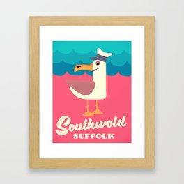southwold suffolk Framed Art Print