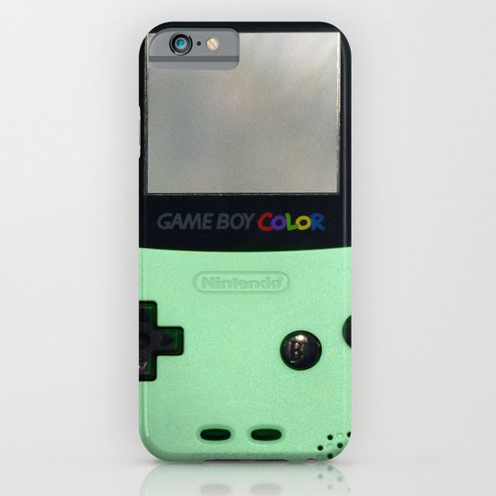 Gameboy Color: Mint iPhone & iPod Case