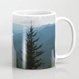 Smoky Mountain National Park -  Mountain Lake Landscape Coffee Mug