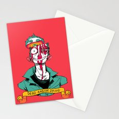 dead and/or dying Stationery Cards