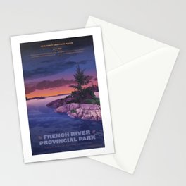 French River Provincial Park Stationery Cards