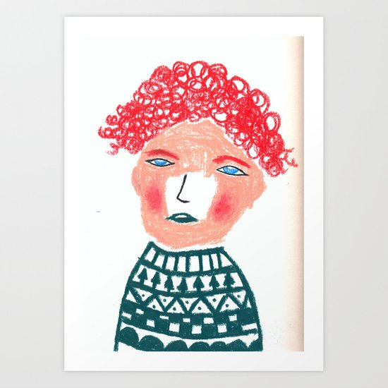 Jumper Art Print