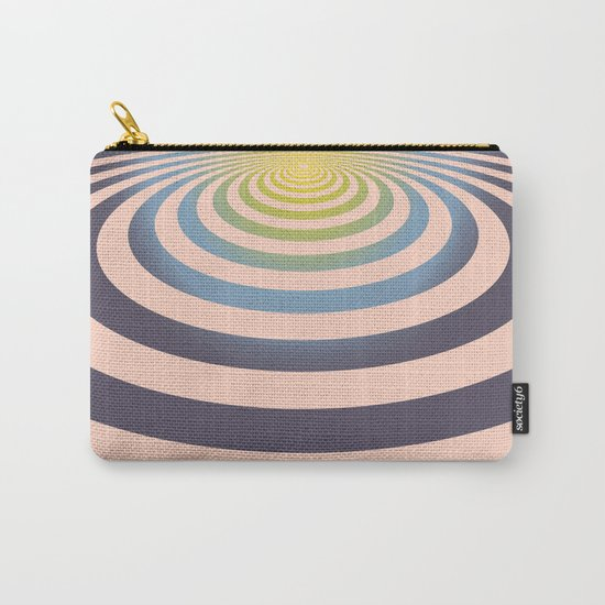 Circle around asymmetrically - Optical game Carry-All Pouch