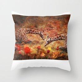 Garden Whimsey Throw Pillow