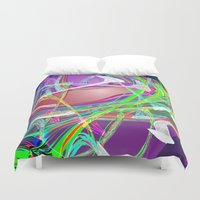 "freedom Duvet Covers featuring "" Freedom "" by shiva camille"