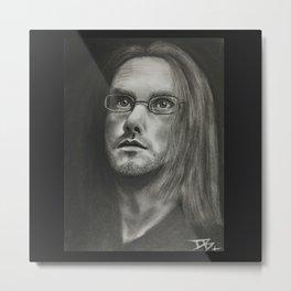 Steven Wilson Metal Print