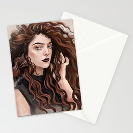 Pure Heroine vibes Stationery Cards