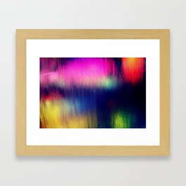 Colored water Framed Art Print