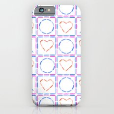 Hearts XOX iPhone 6s Slim Case