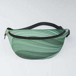 Stranded Strain II. Emerald Green Fanny Pack