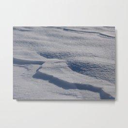 Sparkling Snow Metal Print